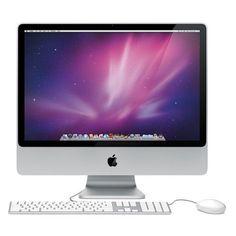Apple iMac 20 Core 2 Duo E4400 2.0GHz All-in-One Computer - 1GB 250GB DVD±RW Radeon HD 2400 XT/Cam/OSX (Mid 2007) - B