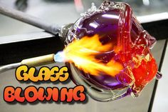 Glass blowing: Dragon, Swan and horse