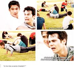 teen wolf 4x03 - were-cheetah lol this episode had so many great lines!!!!