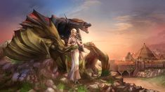 Daenerys Queen of Meereen color by cehnot.deviantart.com on @DeviantArt