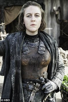 Game Of Thrones' Gemma Whelan insists fans STILL don't know who she is   Daily Mail Online