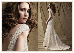 White Crochet Wedding Dresses