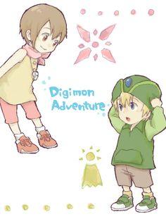 Digimon Adventure: Kari and TK