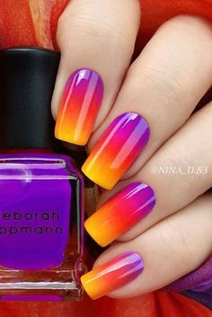 Best Ideas About Ombre Nails Art Design 19 https://www.facebook.com/shorthaircutstyles/posts/1760243307599442