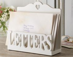 Letters Rack £12  This pretty letters rack will keep all your mail together, from appointments to parties keep everything where you know you left it. H16 x W16.5 x D4.8cm  KLife Kleeneze