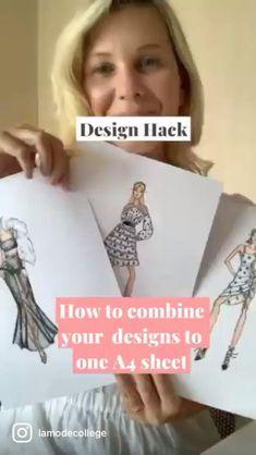 Fashion Portfolio Layout, Fashion Design Sketchbook, Fashion Design Drawings, Fashion Sketches, Portfolio Design, Fashion Illustration Template, Fashion Design Classes, Fashion Figures, Fashion Sewing