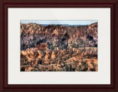 """""""Bryce Canyon v"""" by Beautifully Scene Images, Grafton // Bryce Canyon National Park, Utah. // Imagekind.com -- Buy stunning fine art prints, framed prints and canvas prints directly from independent working artists and photographers."""