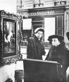 Robert Doisneau - La Dame Indignee