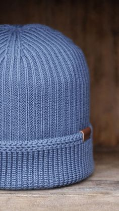 b242c493c71 The Squad Pull-On uses different knit textures on the crown   cuff. Fully