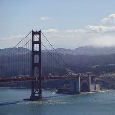 The Golden Gate Bridge #goldengatebridge #sanfrancisco #california #bridge #architecture
