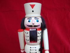 Vintage Wooden Nutcracker