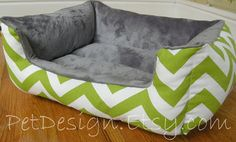 NEW  OnePiece 19 X 15   Dog Bed  Cat Bed  Chartreuse by PetDesign, $55.00