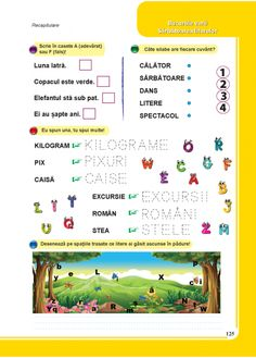 Comunicare in limba romana - Clasa Pregatitoare Autism, Activities For Kids, Transportation, School, Children Activities, Kid Activities, Petite Section, Kid Crafts
