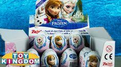 Lets see which Disney Frozen characters are inside the Zaini surprise eggs. #disneyfrozen #surpriseeggs #queenelsa #princessanna #olaf
