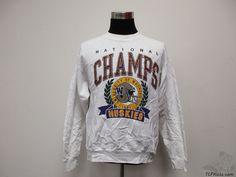 Vtg 90s Oneita Washington Huskies Sweatshirt sz XL Extra Large 91 National Champ #Oneita #WashingtonHuskies