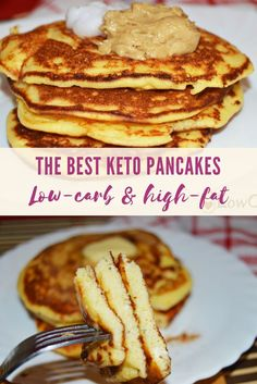[ How do you want to start your mornings? I suggest you start by making this healthy wheat-free keto recipe that requires only a few ingredients. You will love this keto pancakes made with coconut flour! Enjoy The post The best Keto Pancakes Best Keto Pancakes, Tasty Pancakes, Keto Pancakes Coconut Flour, Low Carb Pancakes, Keto Cream Cheese Pancakes, Coconut Flour Recipes Keto, Cream Cheese Keto Recipes, Desserts With Coconut Flour, Dairy Free Keto Pancakes