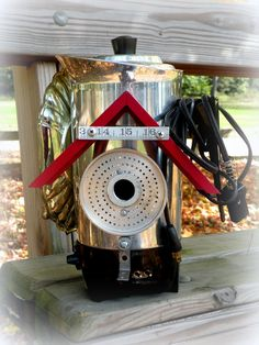 Luxury Recycled / Upcycled Metal Bird House by UncommonRecycables, $225.00