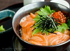 Salmon & Ikura Don recipe | Easy Japanese Recipes at Just One Cookbook