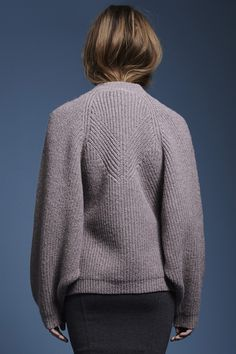 charlee pullover (back) -Fall 2014 - Kim Haller