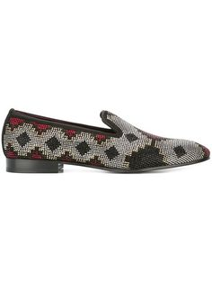 e9aa6f781fa LOUIS LEEMAN crystal embellished slippers.  louisleeman  shoes  flats