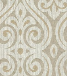 Home Decor 8''x 8'' Fabric Swatch-HGTV HOME Magic Hour Pearl