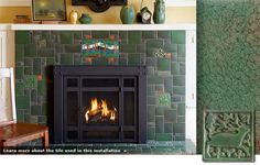 Love the idea of quilt tile works