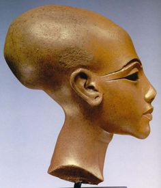 """Famous Egyptian long skull of Atlantean descent - also found in the long skulls of both Americas. See Elisabeth Haich: """"Initiation"""""""