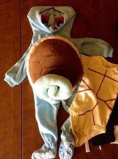 D.I.Y: Do you want to build a Squirtle? Baby Squirtle Costume