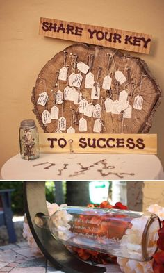Unique Guest Book Ideas | http://www.yesbabydaily.com/blog/unique-guest-books