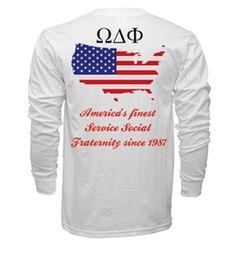 Rush Omega Delta Phi SP 15' Concept shirt