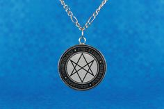 Men of Letters necklace (Supernatural) | Men of Letters: Preceptors, observers, beholders, chroniclers | Resin necklace