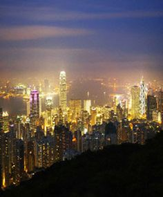 A View of the City at Night as a Romantic Date Idea