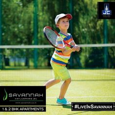 Savannah offers amenities like pool deck, tennis court, gymnasium etc. #LiveInSavannah that won't let you step out!  To know more: www.savannah.co.in