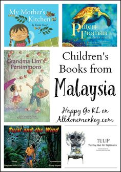 Travel to Malaysia with this wonderful collection of children's books! From /alldonemonkey/ Toddler Books, Childrens Books, Good Books, My Books, Kids Reading, Reading Lists, Chapter Books, Children's Literature, Teaching Kids