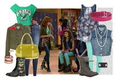 """""""Shake It Up - Rocky e Cece"""" by bellla-zendaya ❤ liked on Polyvore featuring Current/Elliott, Dolce&Gabbana, Topshop, Alice by Temperley, J Brand, MICHAEL Michael Kors, Urban Renewal, Juicy Couture, ASOS and Dorothy Perkins"""