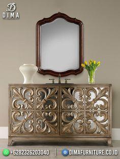 Mirror, Buffet, Sink, Vanity, Cabinet, Bathroom, Storage, Home Decor, Furniture