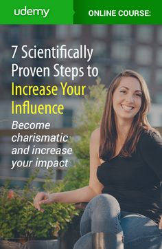 Discover 7 scientifically proven ways to boost your influence and charisma so that you can increase your income, get a new job, or just become the master of social situations! This short online course breaks everything down into easy to digest info you can apply instantly whether you're in business, dating, or any other social scene you can imagine. Join over 40,300 other students and become the most memorable person in the room today!
