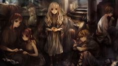 View an image titled 'Children of the Labyrinth Art' in our Dragon's Crown art gallery featuring official character designs, concept art, and promo pictures. Dragons Crown, High Fantasy, Fantasy World, Game Art, Crown Art, The Minotaur, Fantasy Artwork, Character Art, Character Design