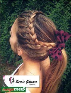 Stunning Braided Ponytail Hairstyles 2020 150 Stunning Braided Ponytail Hairdo for Enchanting Appearance Ponytail Hairstyles, Pretty Hairstyles, Girl Hairstyles, Teenager Hairstyles, Cute Cheer Hairstyles, Volleyball Hairstyles, Bridal Hairstyle, Hairstyles 2018, School Hairstyles