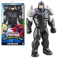 Spider-Man Titan Heroes Villain Figure - Rhino