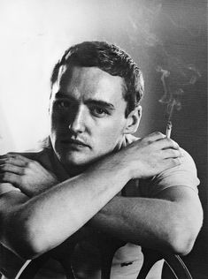 """""""He was erotic as if he were painting: colorful, studious, generous. He shared his emotions as if they were confetti and it was always midnight on New Year's Eve."""" Tennessee Williams on Dennis Hopper/To James Grissom/Photo by Sam Shaw/ Ingrid Bergman, Sophia Loren, Elizabeth Taylor, Dennis Lee, Dennis Hopper, Laura Palmer, John Huston, Actor Studio, Tennessee Williams"""