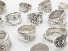 DIY Silver Spoon Ring