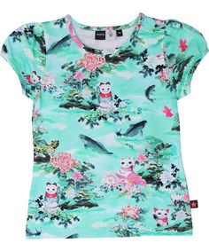 Smafolk robe manches longues-Dress with cats rose chats SALE