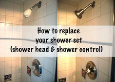 replace shower fixtures
