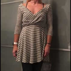 Free People dress. Brand new w/tags! Beautiful, comfortable dress! You can wear it as a dress or a tunic with jeans. BNWT!! Happy poshing! Free People Dresses Mini