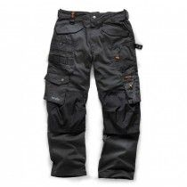 Scruffs 3D Pro Trousers With Cordura & Multi-Function Pockets Graphite Grey