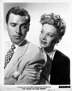 William Eythe and Signe Hasso, The House on 92nd Street (1945)