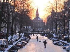 Image result for holland ice skating canal