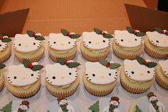 Christmas cup cackes
