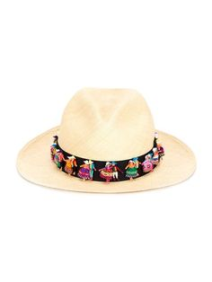 Valdez Panama Hats, doll detail panama hat | farfetch.com